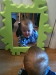Who\'s that handsome boy in the mirror??